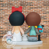 Boba Fett Groom & Snow White Bride Wedding Cake Topper | Star Wars x Disney | Jessichu Creations