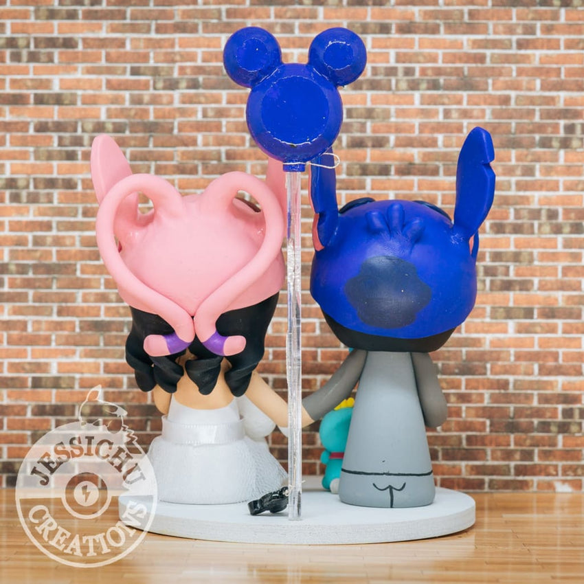 Lilo and Stitch Wedding Cake Topper | Disney | Jessichu Creations