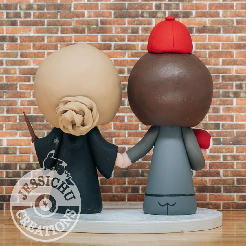 Wedding Cake Topper | Nintendo x HP | Jessichu Creations