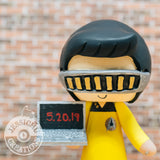Geordi La Forge Groom & Sailor Mars Bride - Star Trek x Sailor Moon Inspired Wedding Cake Topper | Wedding Cake Toppers | Cake Topper Gallery | Jessichu Creations
