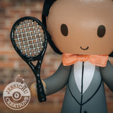 Tennis Player | Wedding Cake Topper Figurines | Jessichu Creations