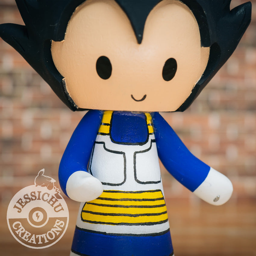 Vegeta Dragon Ball Z | Wedding Cake Topper | Jessichu Creations