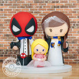 Deadpool and Ravenclaw Harry Potter Family | Marvel X-Men x HP | Wedding Cake Topper | Jessichu Creations