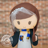 Ravenclaw Harry Potter | Wedding Cake Topper | Jessichu Creations