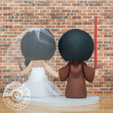 Wedding Cake Topper | Jessichu Creations
