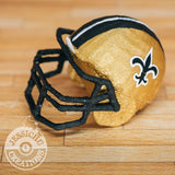 Wedding Cake Topper | Saints Helmet | Jessichu Creations