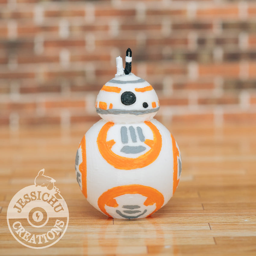 Wedding Cake Topper | Star Wars BB8 | Jessichu Creations