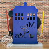 Wedding Cake Topper | Dr Who Tardis | Jessichu Creations