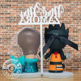 Naruto Groom & Ariel Bride inspired Anime x Little Mermaid x Disney Custom Made Wedding Cake Topper Figurines | Wedding Cake Toppers | Cake Topper Gallery | Jessichu Creations
