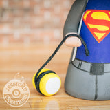 Superman Yo-Yo Groom & Ice Cream Lover - DC Comics Inspired Wedding Cake Topper | Wedding Cake Toppers | Cake Topper Gallery | Jessichu Creations