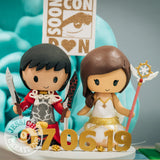 Fate Stay Night Archer & Cardcaptor Sakura Wedding Cake Topper | FSN x CCS | Jessichu Creations