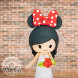 Minnie Mouse Wedding Cake Topper | Disney | Jessichu Creations