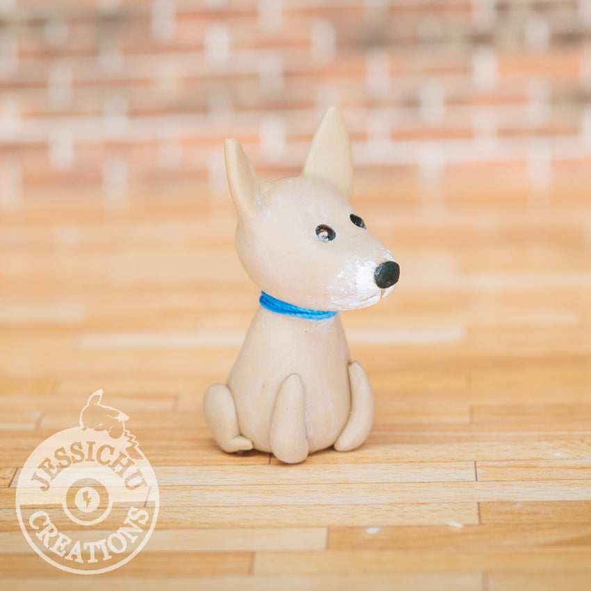 Wedding Cake Topper | Pet Dog | Jessichu Creations