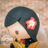 Wedding Cake Topper | Hawaiian Flower | Jessichu Creations