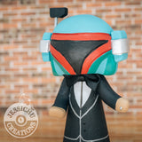 Boba Fett Wedding Cake Topper | Star Wars | Jessichu Creations