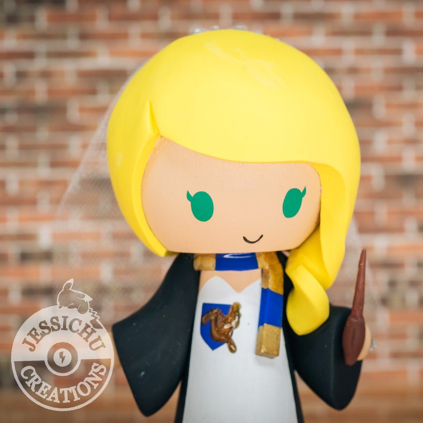 Ravenclaw Wedding Cake Topper | Harry Potter | Jessichu Creations