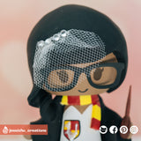 Harry Potter Gryffindor | HP | Custom Handmade Wedding Cake Topper Figurines | Jessichu Creations