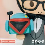 Boba Fett | Star Wars | Custom Handmade Wedding Cake Topper Figurines | Jessichu Creations