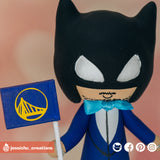 Batman | DC | Custom Handmade Wedding Cake Topper Figurines | Jessichu Creations