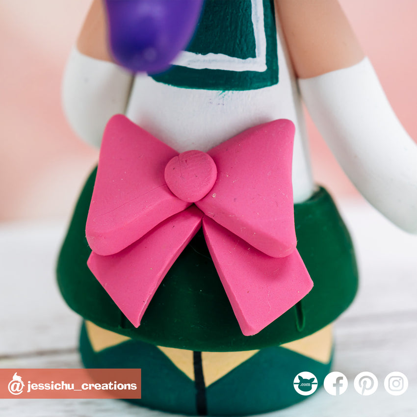 Ichigo with Hollow Mask Groom & Sailor Jupiter Bride Inspired Bleach x Sailor Moon Wedding Cake Topper | Wedding Cake Toppers | Cake Topper Gallery | Jessichu Creations