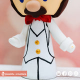 Mario & Princess Peach Inspired Super Mario Odyssey Nintendo Wedding Cake Topper | Wedding Cake Toppers | Cake Topper Gallery | Jessichu Creations