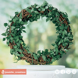 Large Wreath | Signs | Custom Handmade Wedding Cake Topper Figurines | Jessichu Creations