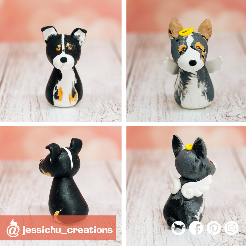 Pets | Custom Handmade Wedding Cake Topper Figurines | Jessichu Creations