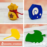 Animal Crossing Accessories | Nintendo | Custom Handmade Wedding Cake Topper Figurines | Jessichu Creations