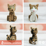 Pet Cats | Wedding Cake Topper | Jessichu Creations