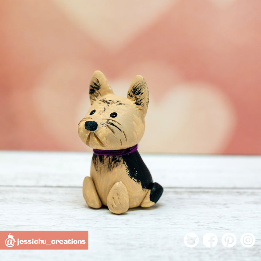 Pet Dog | Wedding Cake Topper | Jessichu Creations