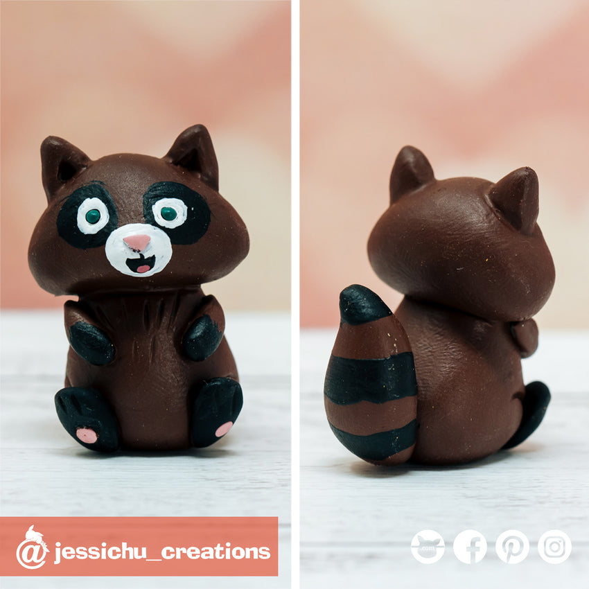 Raccoon | Sidekick | Wedding Cake Topper | Jessichu Creations