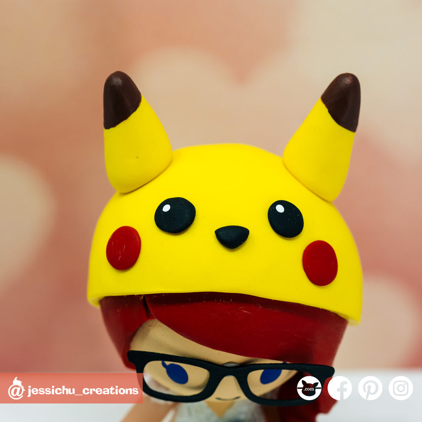 Pikachu | Nintendo x Pokemon |Custom Handmade Wedding Cake Topper | Jessichu Creations