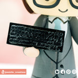 Keyboard | Accessories | Custom Handmade Wedding Cake Topper Figurines | Jessichu Creations