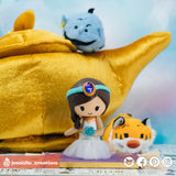Jasmine on Magic Carpet | Disney x Aladdin | Custom Handmade Wedding Cake Topper Figurines | Jessichu Creations