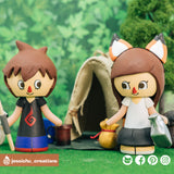 Animal Crossing | Nintendo | Custom Handmade Wedding Cake Topper Figurines | Jessichu Creations