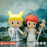 Final Fantasy XIV | Custom Handmade Wedding Cake Topper | Jessichu Creations