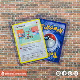 Pokemon Proposal Trading Card I Choose You Wedding Proposals | LGBTQ Gay | Jessichu Creations