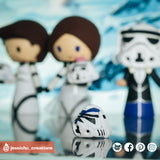 501st Stormtrooper helmet | Accessories | Custom Handmade Wedding Cake Topper Figurines | Jessichu Creations