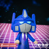 Optimus Prime | Transformers | Custom Handmade Wedding Cake Topper Figurines | Jessichu Creations