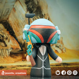 Boba Fett | Star Wars | Custom Handmade Wedding Cake Topper | Jessichu Creations