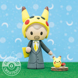 Pikachu | Nintendo Pokemon | Custom Handmade Wedding Cake Topper Figurines | Jessichu Creations