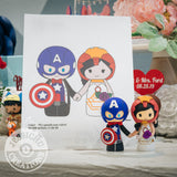 Captain America and Ironman Wedding Cake Topper | Marvel | Jessichu Creations