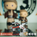 X-wing Fighter | Star Wars | Custom Handmade Wedding Cake Topper | Jessichu Creations