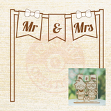 Add-on for Personalized Wooden Custom Made Wedding Cake Topper | Wooden Items | Wooden | Jessichu Creations