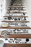 Only you can control your future - Dr. Seuss Inspired Geeky Quote Wall Vinyl Decal Decals