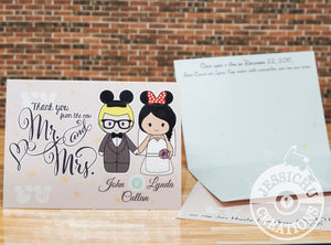 Thank you cards for Weddings and Special Occasions Invitations
