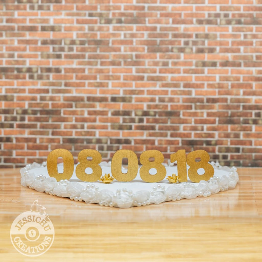 Add A Sign Or Platform Upgrade To Your Custom Wedding Cake Topper Figurines Toppers