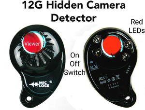 12G RF and Hidden Camera Finder