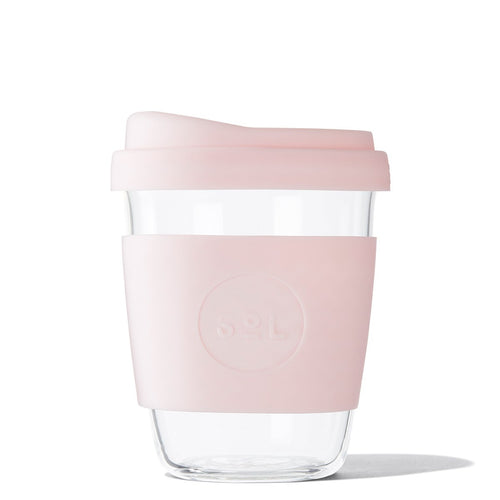 SoL 12oz Perfect Pink Glass Tumbler from One Less