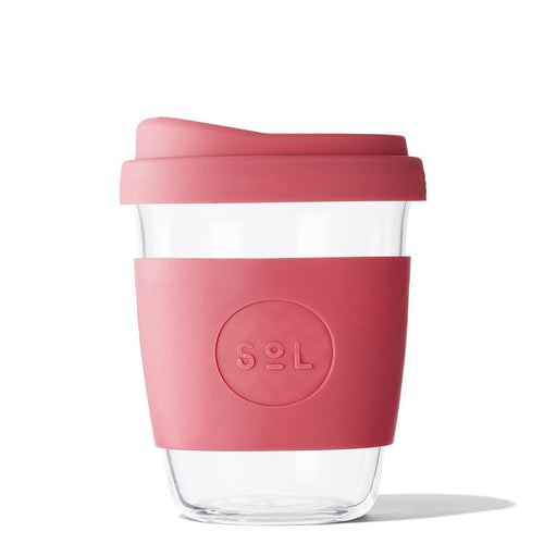 SoL Cups 12oz Radiant Rosé Glass Tumbler from One Less